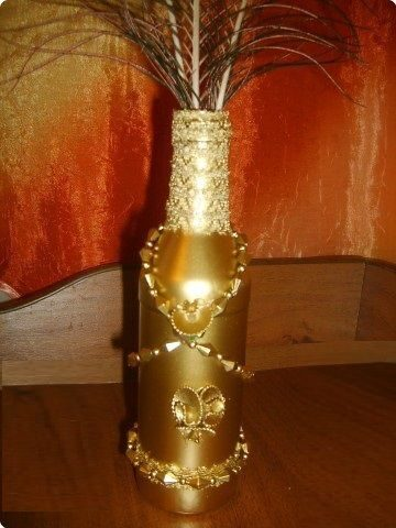 как покрасить декор золотом из баллончика стоит смотреть